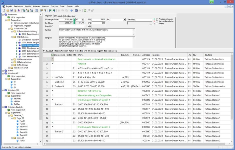Mwm Software Beratung Gmbh Software Mwm Libero 96 It Am Bau
