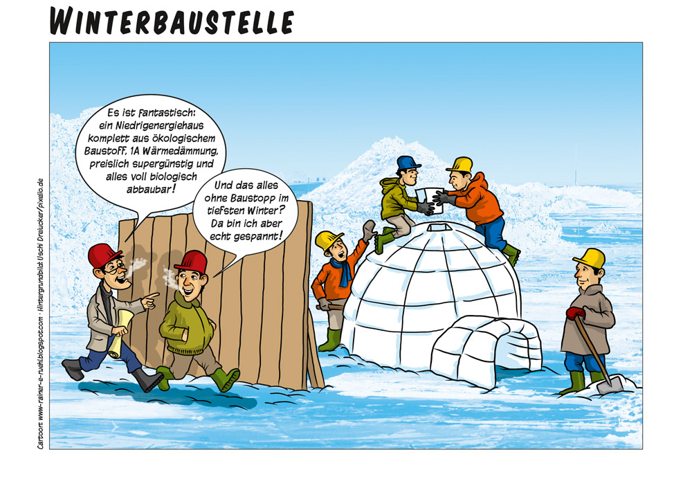 Winterbaustelle
